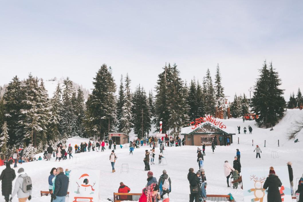 Christmas Mountain Village